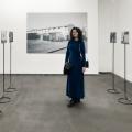"""Me and my project """"Villaggio dei Fiori"""" for the Talent Prize exhibition at Mattatoio Museum in Rome, Italy."""