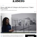 Press review about Talent Prize 2019 on Libero Quotidiano / liberoquotidiano.it