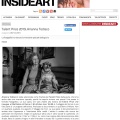Press review of my project on InsideArt Magazine / Insideart.com