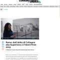 Press Review of Talent Prize 2019 is on Corriere dell'Umbria / corrieredellumbria.corr.it