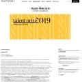 Info about Talent Prize 2019 exhibition on Mattatoio website / mattatoioroma.it