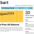 Press review of Talent Prize 2019 on Exibart / exibart.com