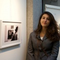 """Arianna Todisco with her masterpiece """"Pass-anti"""", Winners of Premio Donghi"""