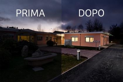 Fotografia di architettura Prima e Dopo